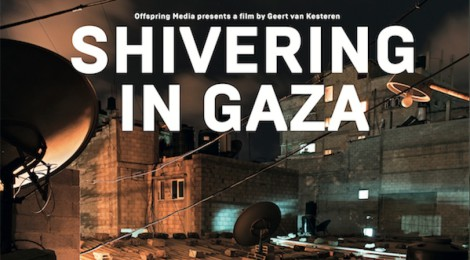 Vertoning 'Shivering in Gaza', 22 september