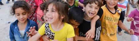 De kinderen van Shati Camp