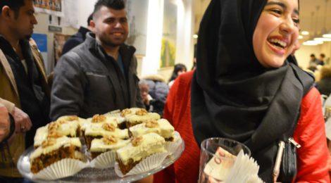 Date met Gaza in afgeladen Espresso Dates