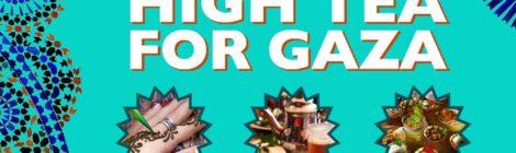Tweede Paasdag: High Tea voor Gaza!