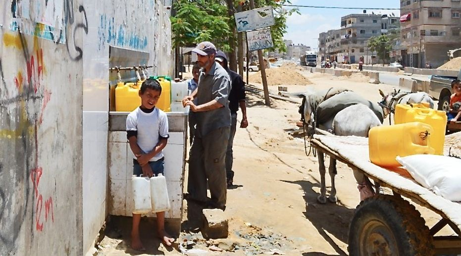 Water Situation Alarming in Gaza