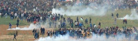 Great March of Return demonstraties in Gaza