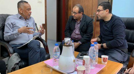 glenn helbergin gesprek met psychiaters in Gaza
